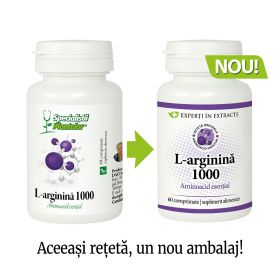 L-arginina 1000 - comprimate