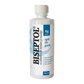 BiSeptol apa de gura cu albastru de metilen si eucalipt 480ml