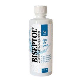 BiSeptol apa de gura cu albastru de metilen si eucalipt 500ml