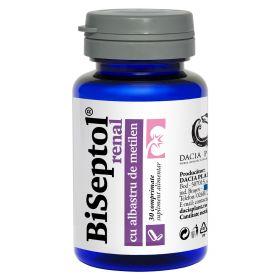 BiSeptol Renal 30 comprimate, cu albastru de metilen