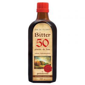 Bitter 50 Plante de Leac cu Ganoderma tinctura 500ml