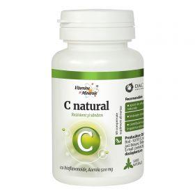 C Natural cu Acerola 60 comprimate masticabile