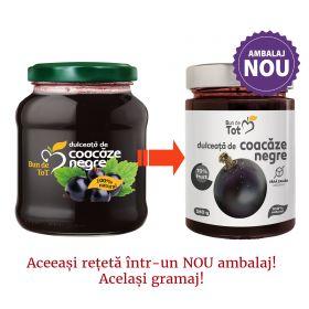 Bun de Tot Coacaze Negre dulceata fara zahar - 360g
