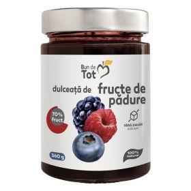 Bun de Tot Fructe de Padure dulceata fara zahar - 360g