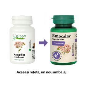 Emocalm cu melatonina comprimate (Somnofort)