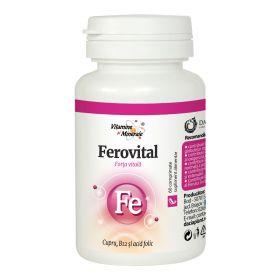 Ferovital comprimate Vitamine si Minerale