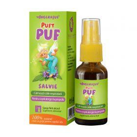 PufyPUF Salvie spray - calmeaza durerile de gat