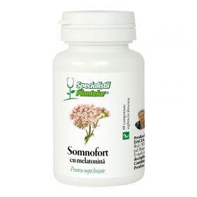 Somnofort cu melatonina comprimate