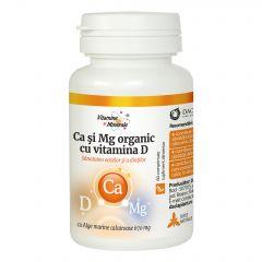 Ca si Mg Organic cu Vitamina D comprimate