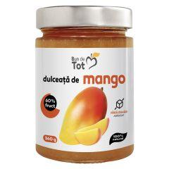Dulceata de mango, 100% NATURAL, fara zahar adaugat, fara chimicale