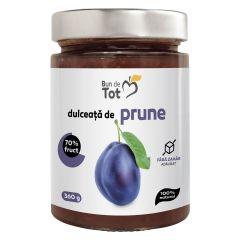 Dulceata de prune, 100% NATURAL, fara zahar adaugat, fara chimicale