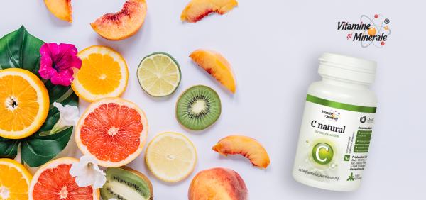 Vitamina C naturala – super scut pentru imunitate!