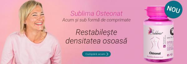 OSTEONAT - un produs unic pe piata romaneasca pentru restabilirea densitatii osoase