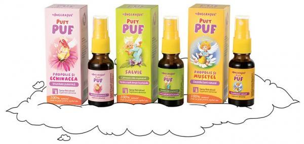 Dacia Plant lanseaza Ingerasul PufyPUF - sanatate inovatoare pentru copii!