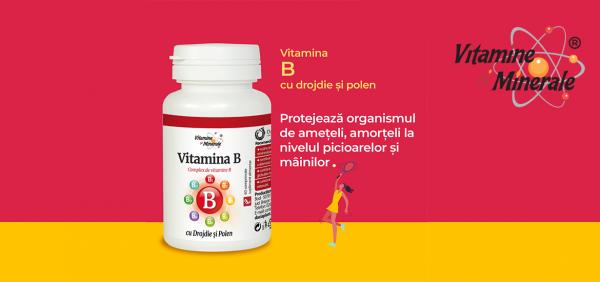 Complexul de Vitamine B, esențial pentru sănătate