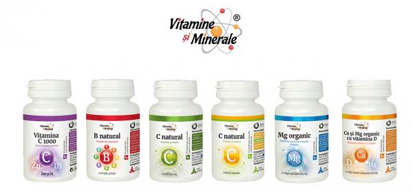Vitamine şi minerale pentru iarnă