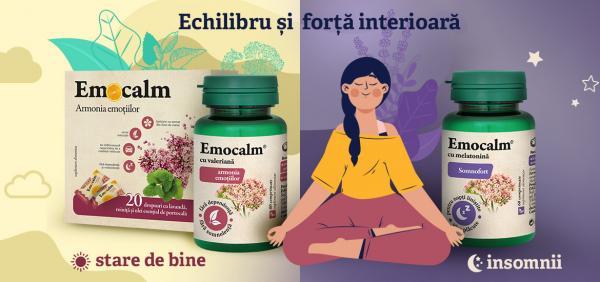 Emocalm, odihna si calm interior
