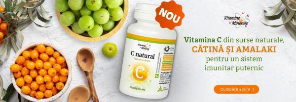 Despre Vitamina C Natural cu amalaki si catina
